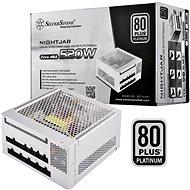 SilverStone Nightjar Fanless Platinum NJ520 520W - Počítačový zdroj