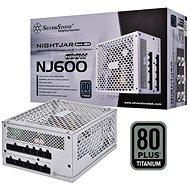 SilverStone Nightjar Fanless Titanium NJ600 600W - Počítačový zdroj