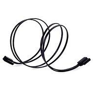 SilverStone CP11B SATA III 90° 500mm černé - Datový kabel