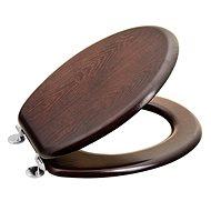 AQUALINE toilet seat MDF walnut 1705-11 - Toilet Seat