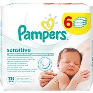 PAMPERS Wipes Sensitive (6× 56 ks) - Dětské vlhčené ubrousky