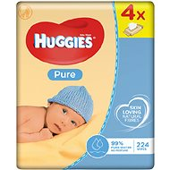 HUGGIES Pure Quatro Pack (4× 56 ks)