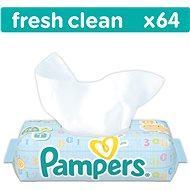 PAMPERS Fresh Clean 64 ks - Dětské vlhčené ubrousky