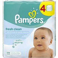 PAMPERS Fresh Clean (4× 64 ks)