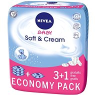 NIVEA BABY Soft & Cream 4 x 63 ks