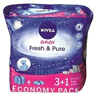 NIVEA BABY Fresh & Pure 4 x 63 ks