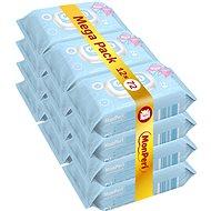 MonPeri Mega Pack (12× 72 ks) - Dětské vlhčené ubrousky
