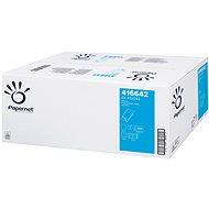 PAPERNET Ručníky bílá buničina 2vr. 416642 3990 útržků