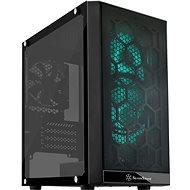 SilverStone Precision PS15B RGB Black - Počítačová skříň
