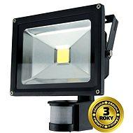 Solight venkovní reflektor se senzorem 20W, černý - LED reflektor