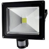Solight venkovní reflektor se senzorem 50W, černý - LED reflektor