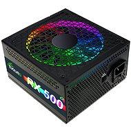 EVOLVEO RX 500 RGB LED 80Plus 500W - Počítačový zdroj