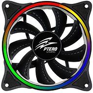 EVOLVEO Ptero FR1 Rainbow 5V RGB LED 120mm - Ventilátor do PC