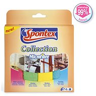 SPONTEX Collection Microfibre 4 ks - Hadřík