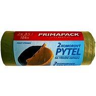 PRIMAPACK 2-komorové pytle na odpad 2x35L/10ks - Pytle na odpad