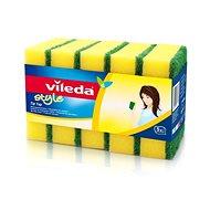 VILEDA Style Tip Top houbička 5 ks - Houbička na nádobí