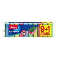 VILEDA Rainbow sponge 9 + 1pcs - Sponge