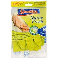 SPONTEX Natur Fresh rukavice M - Gumové rukavice