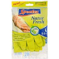 SPONTEX Natur Fresh rukavice L - Gumové rukavice