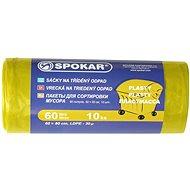 SPOKAR Sáčky na tříděný odpad 60 l, 10 ks, žluté - Pytle na odpad