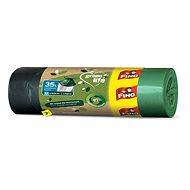 Eko pytle na odpad FINO LD Pytle Green Life zatahovací 35 l, 15 ks  - Eko pytle na odpad