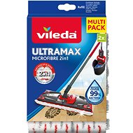 VILEDA Ultramax Microfibre 2v1 náhrada 2 ks - Náhrada na mop