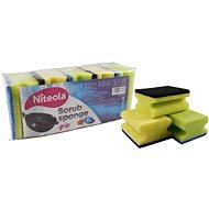 Houba na mytí NITEOLA Houba tvarovaná - 5 ks