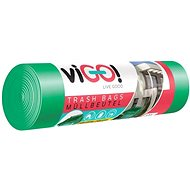 VIGO 45 mic, 120 l, 7 ks, Zelené - Pytle na odpad