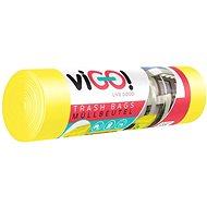 VIGO 45 mic, 120 l, 8 ks, Žluté - Pytle na odpad