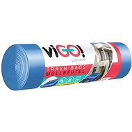 VIGO 45 mic, 120 l, 8 ks, Modré - Pytle na odpad