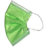 RespiLAB Children' s Disposable Veils - Green (10pcs) - Face mask