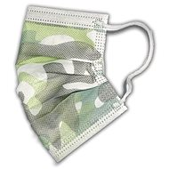 RespiLAB Children's Disposable Face Masks - Military, Camouflage (10pcs) - Face mask