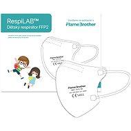 RespiLAB Children's Respirator FFP2 NR, 10 Pcs (White) - Respirator