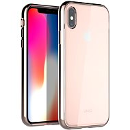Uniq Glacier Xtreme Hybrid iPhone Xs Max Blush Gold - Kryt na mobil