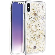 Uniq Lumence Clear Hybrid iPhone Xs Max Champagne - Kryt na mobil