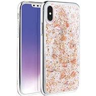 Uniq Lumence Clear Hybrid iPhone Xs Max Rosedale - Kryt na mobil