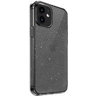Uniq Hybrid iPhone 12 mini LifePro Tinsel Antimicrobial - Vapour Smoke - Kryt na mobil