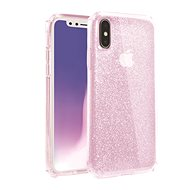 Uniq Clarion Tinsel, Hybrid, for the iPhone Xs/X, Blush - Mobile Case