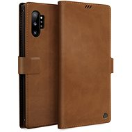 Uniq Journa Heritage Galaxy Note10+ Fawn Camel - Pouzdro na mobilní telefon
