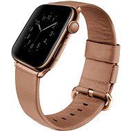 Uniq Mondain pro Apple Watch 40mm Coral růžový - Řemínek
