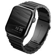 Uniq Strova Apple Watch Articulated Steel Strap 44/42mm- Midnight Black - Watch Band