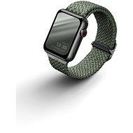 Uniq Aspen Braided řemínek pro Apple Watch 40/38mm zelený - Řemínek