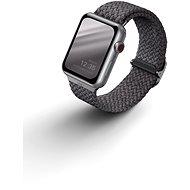 Uniq Aspen Braided řemínek pro Apple Watch 40/38mm šedý - Řemínek