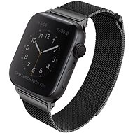 Uniq Dante pro Apple Watch 44mm Midnight černý - Řemínek