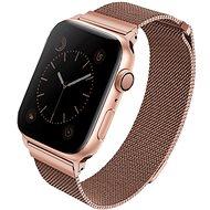 Uniq Dante pro Apple Watch 44mm Rose růžový - Řemínek
