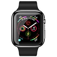 USAMS US-BH485 TPU Full Protective Case for Apple Watch 44mm Black - Protective Watch Cover