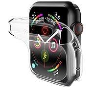 USAMS US-BH485 TPU Full Protective Case for Apple Watch 44mm transparent - Ochranný kryt na hodinky