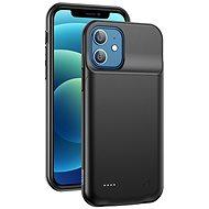 USAMS US-CD157 Battery Case  for iPhone 12  3500mAh black - Kryt na mobil