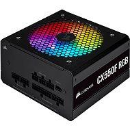 Corsair CX550F RGB Black - Počítačový zdroj
