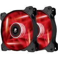 Corsair Quiet edition AF120 červená LED 2ks - Ventilátor do PC